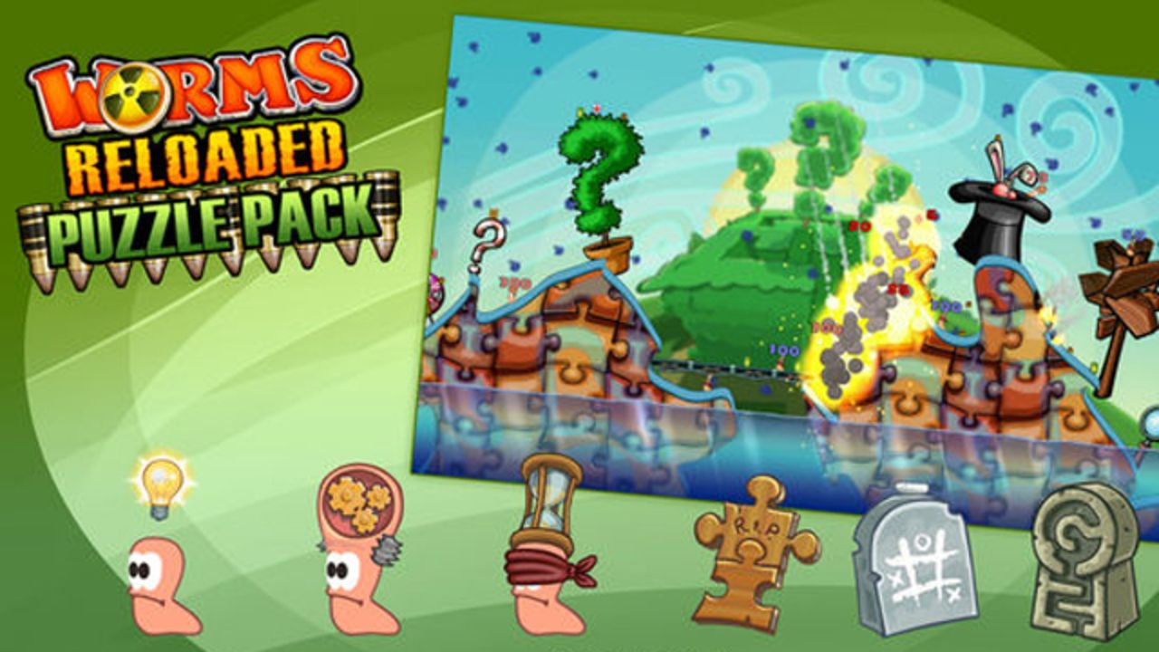 Worms Reloaded - Puzzle Pack DLC