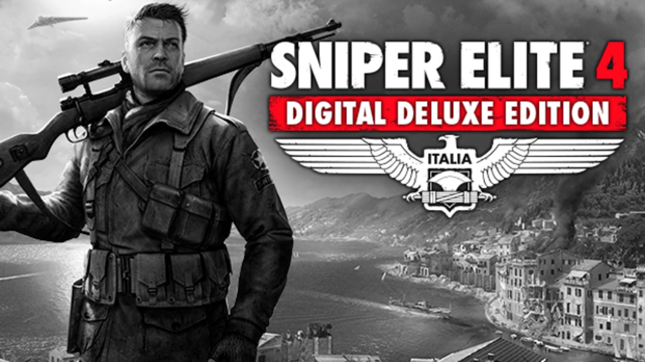 Sniper Elite 4 Digital Deluxe Edition PC Game Full Version